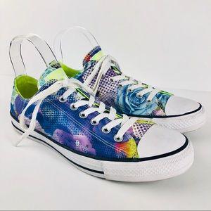 Converse Chuck Taylor Digital Floral Sneaker